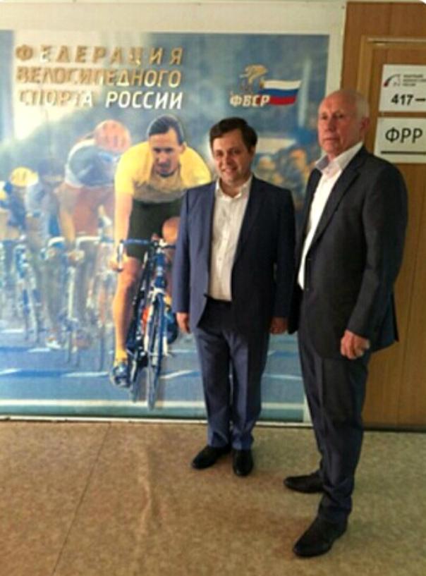 Встреча И.В. Минина и А.Н. Гусятникова
