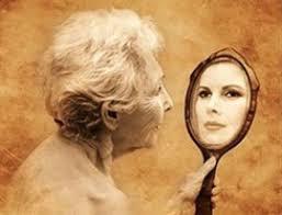 С удовольствием смотрюсь в зеркало